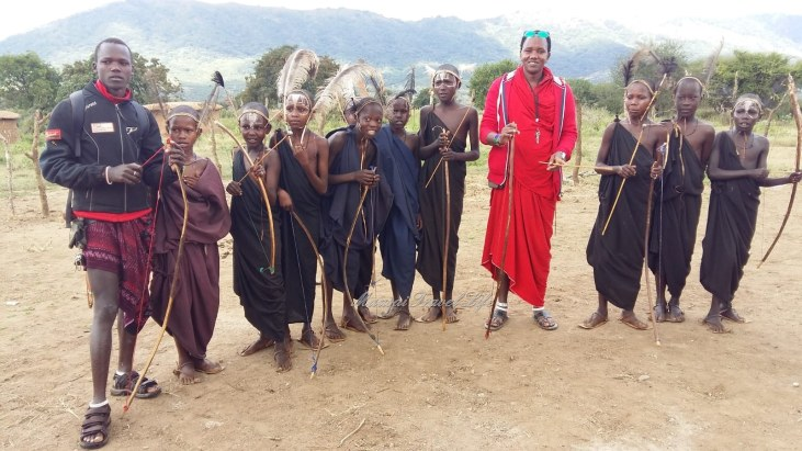 MAASAI IN SAVANA