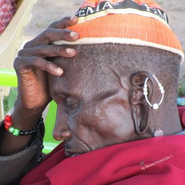 un vecchio masai