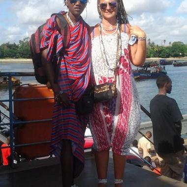 Io e mio marito masai (Tanzania)