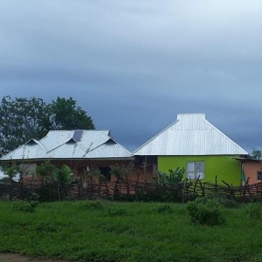 Una casa stile maasai/europeo