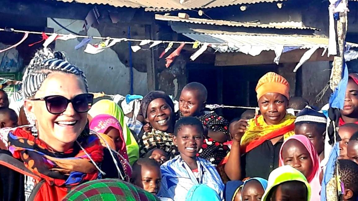 """""""UN SOGNO DIVENTATO REALTÀ' IN TANZANIA""""…. Ringrazio mio maritomaasai!"""