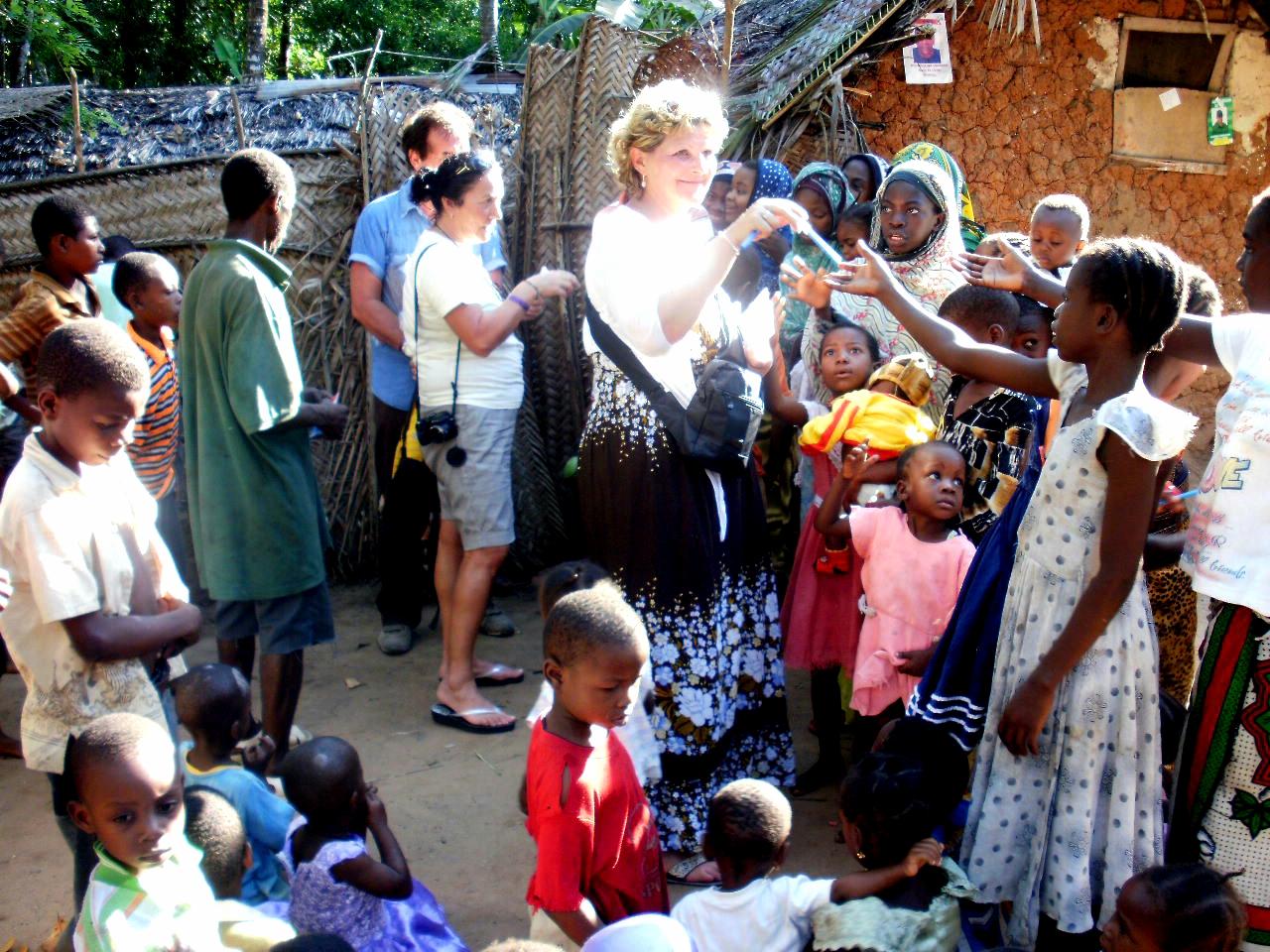 In visita ai villaggi locali di Zanzibar