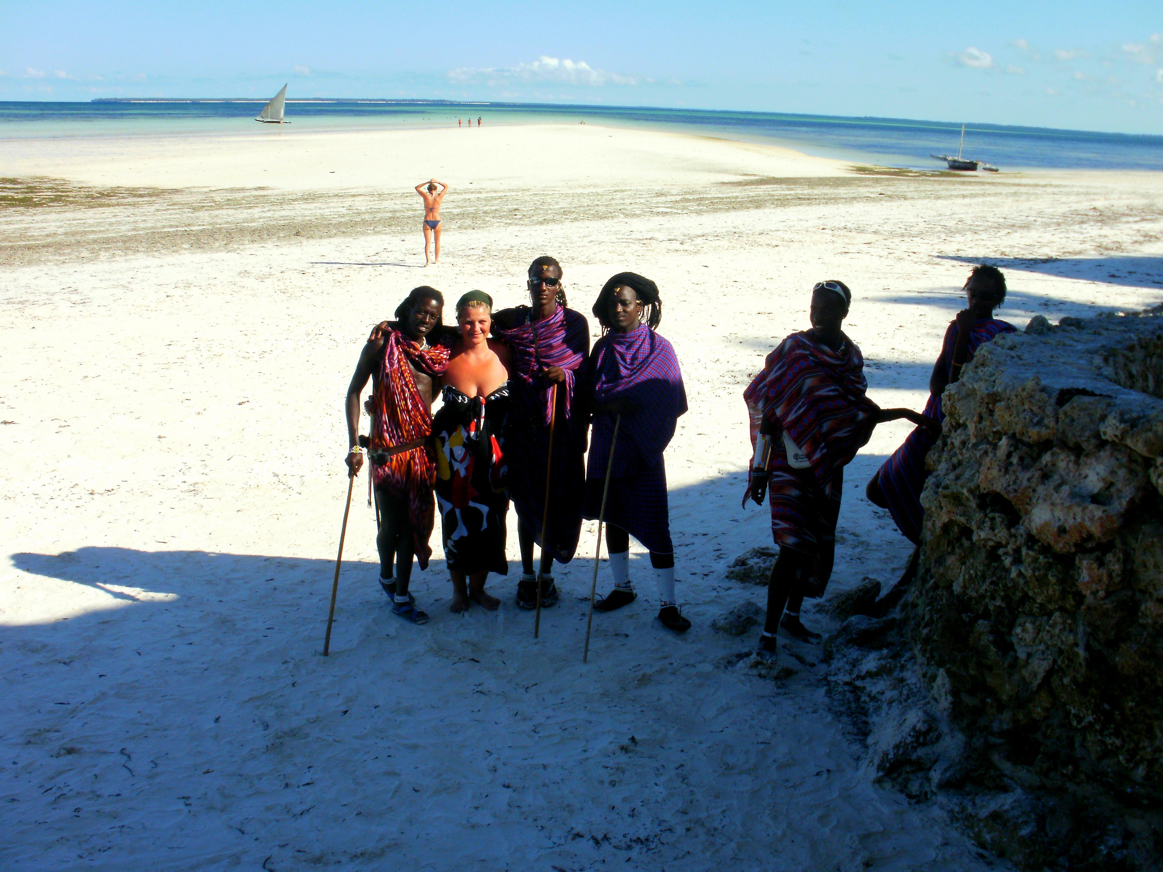 maasai a Zanzibar