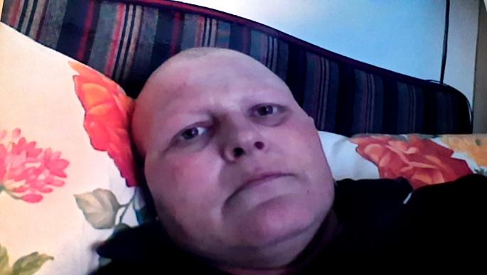 Io durante le chemioterapie