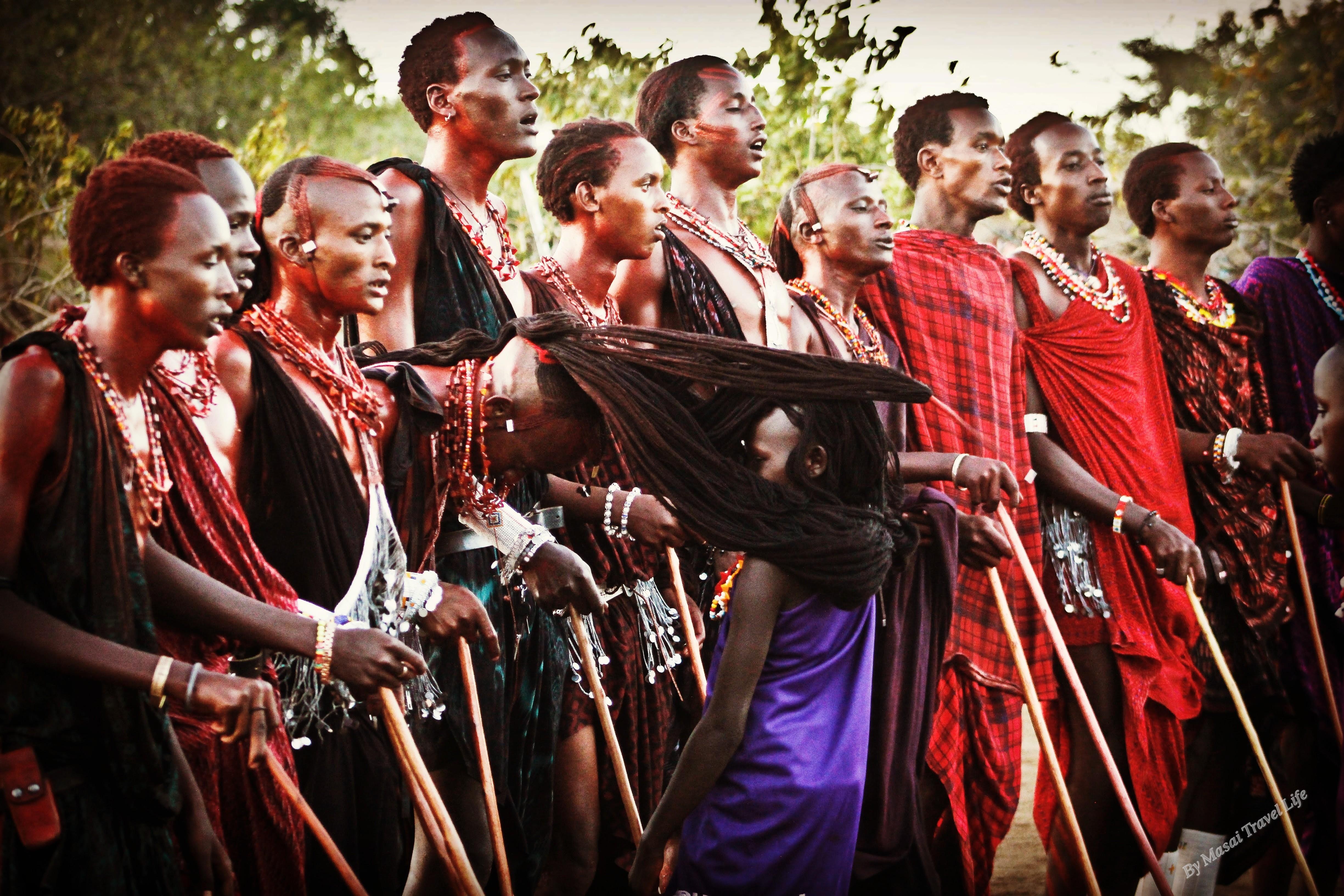 Una cerimonia maasai in Tanzania
