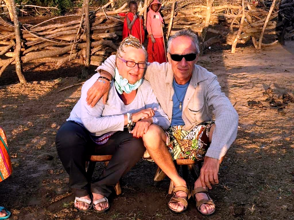 Tramonto in savana-Tanzania